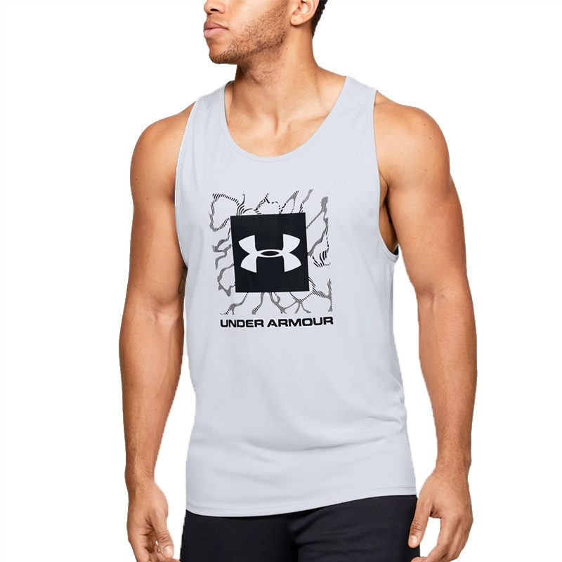 Under Armour UA Tech 2.0 Tank Graphic Halo Grey