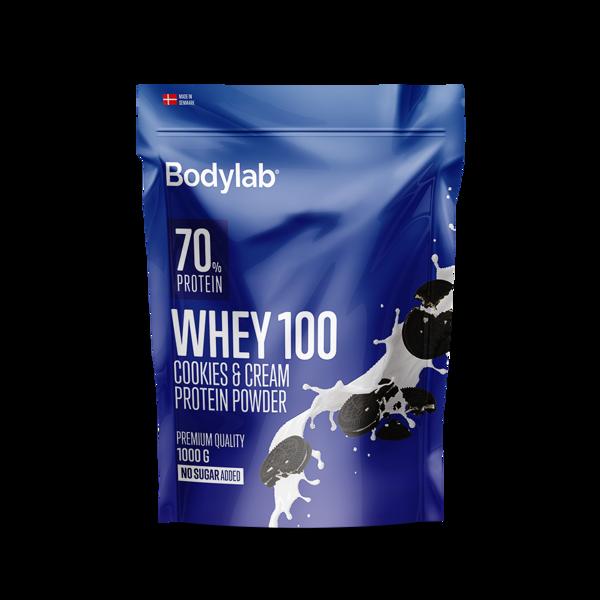 Billede af Bodylab Whey 100 Cookies & Cream 1000g
