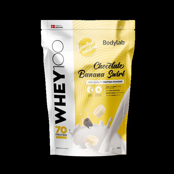 Image of Bodylab Whey 100 Chocolate Banana Swirl 1000g