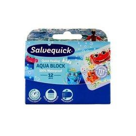Salvequick Aqua Block KIDS 12 stk