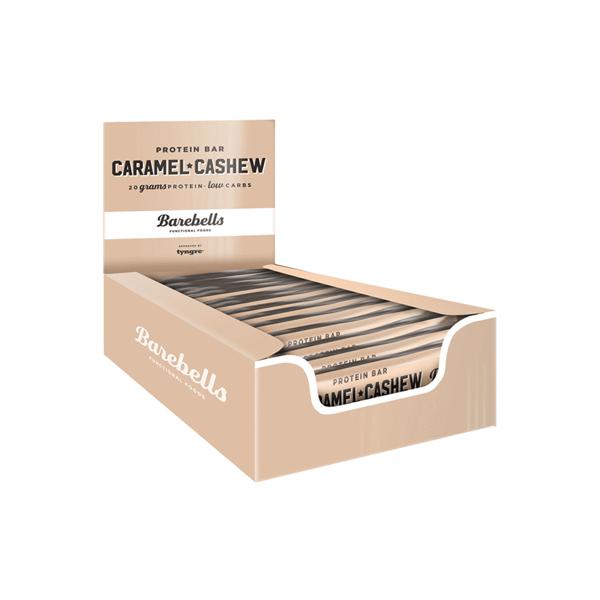 Image of   Barebells Proteinbar Caramel/Cashews 12x55g