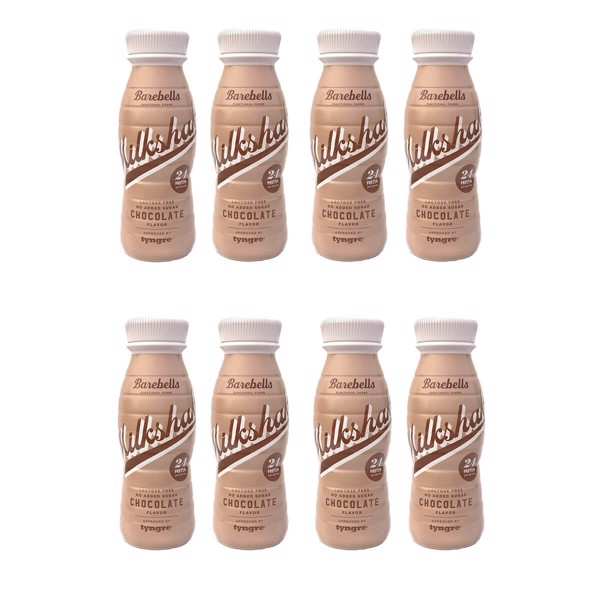 Image of Barebells Protein Milkshake Chocolate 8x330ml