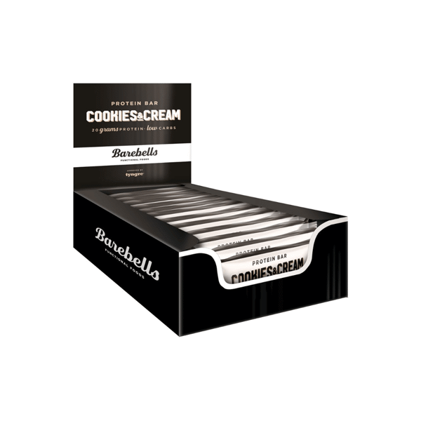 Image of   Barebells Proteinbar Cookies & Cream 12x55g