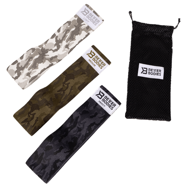 Better Bodies Glute Force 3-pack Camo Combo