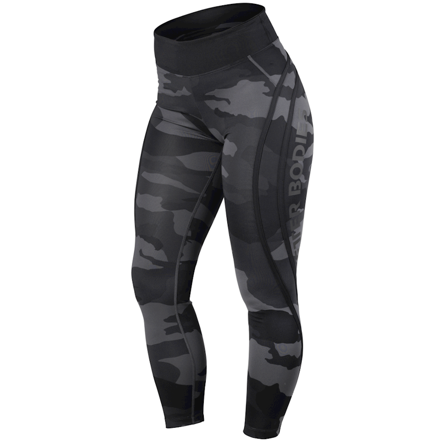 Billede af Better Bodies Camo High Tights Dark Camo