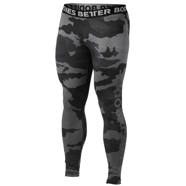 Image of   Better Bodies Hudson Logo Tights Dark Camo