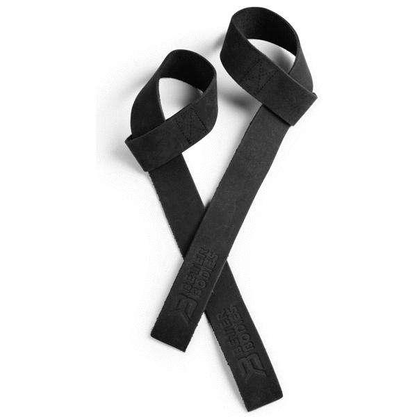 Billede af Better Bodies Leather Lift Straps Black