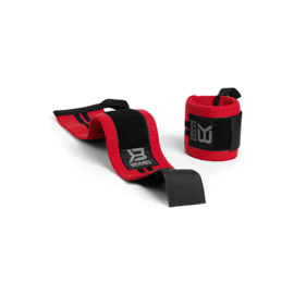 Better Bodies BB Wrist Wraps 18 Inch Bright red
