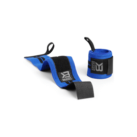 Better Bodies BB Wrist Wraps 18 Inch Strong Blue