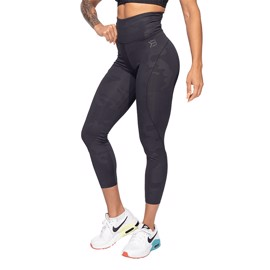Better Bodies High Waist Leggings Black Camo