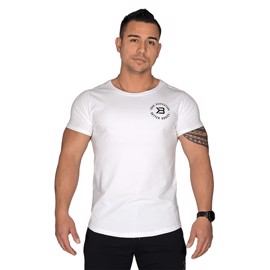 Better Bodies Wide Neck Tee White