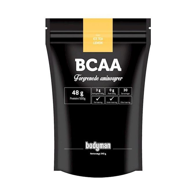 Image of Bodyman BCAA Ice Tea Lemon 240g