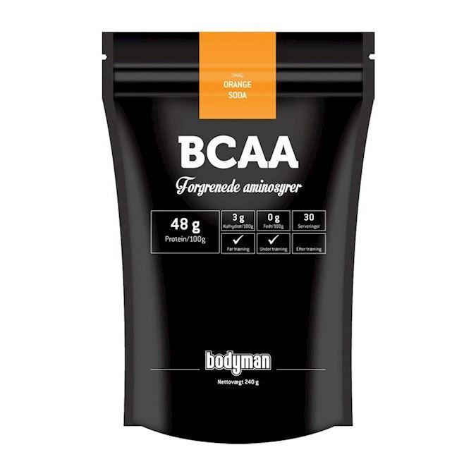 Image of Bodyman BCAA Orange Soda 240g