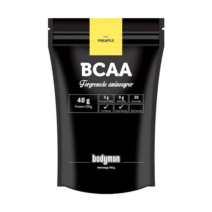 Image of Bodyman BCAA Pineapple 240g