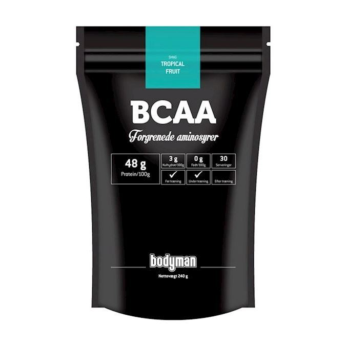Image of Bodyman BCAA Tropical Fruit 240g