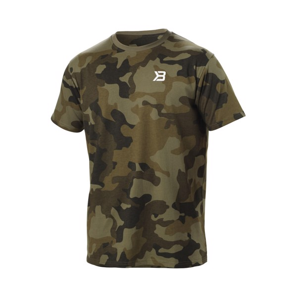 Image of   Better Bodies Harlem Oversized Tee Military Camo