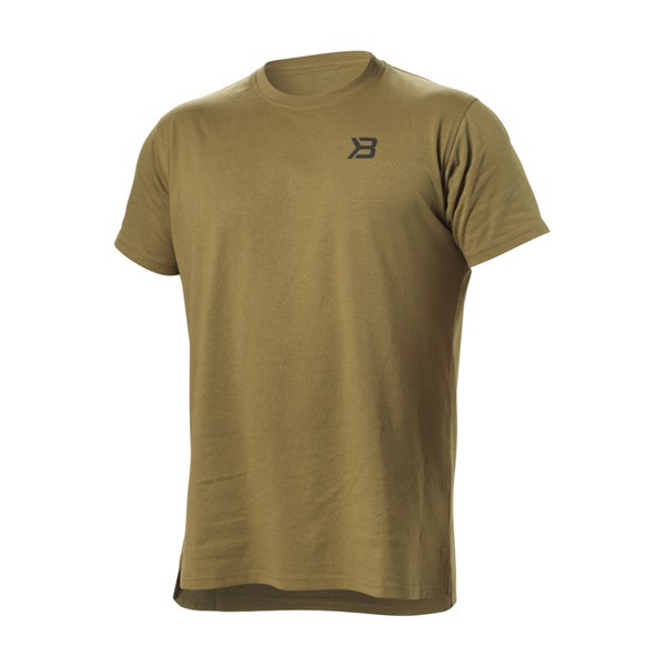 Image of   Better Bodies Harlem Oversized Tee Military Green