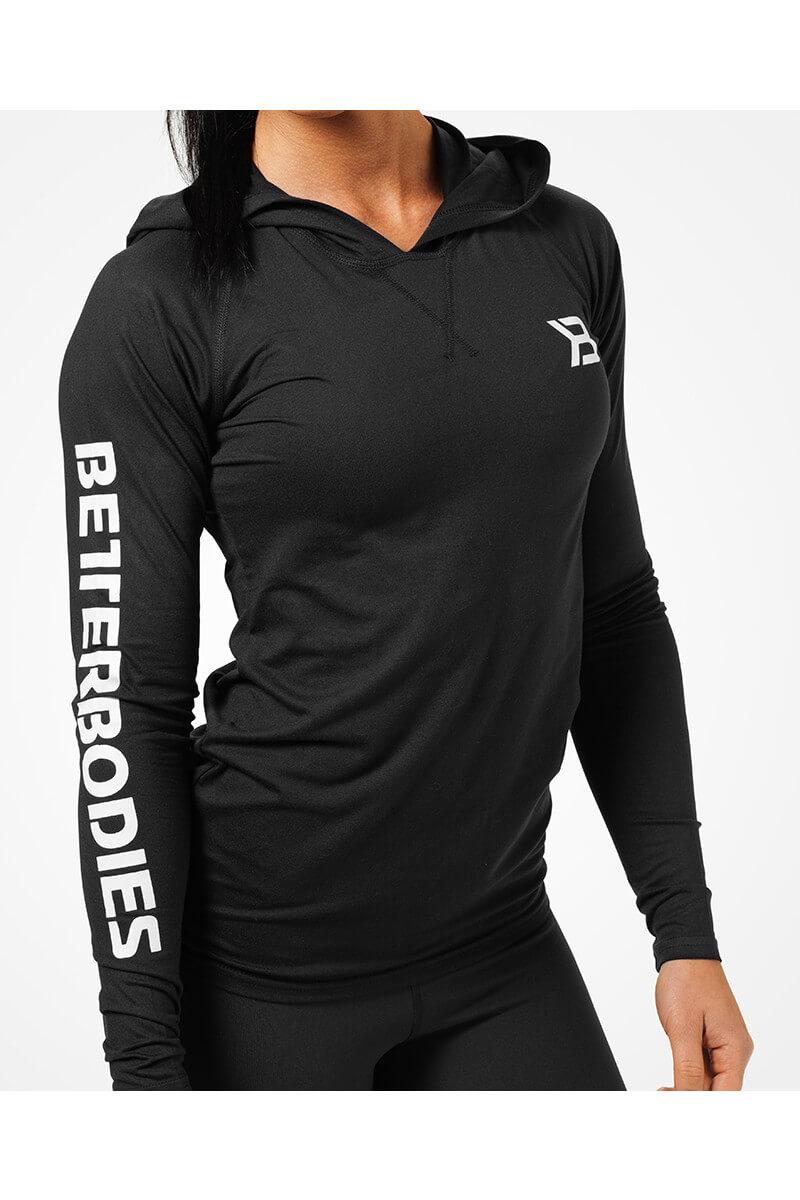 uudet tarjoukset hyvä rakenne hieno tyyli Better Bodies Performance ls Hood - Black