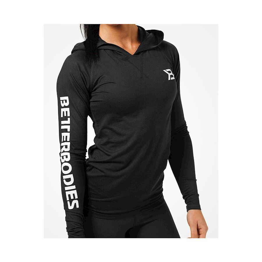 Image of   Better Bodies Performance ls Hood - Black