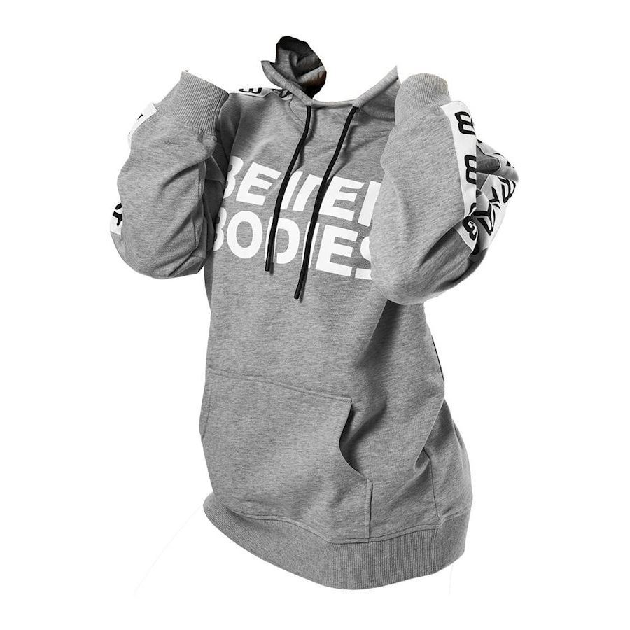 Image of   Better Bodies Trinity Hood Grey Melange