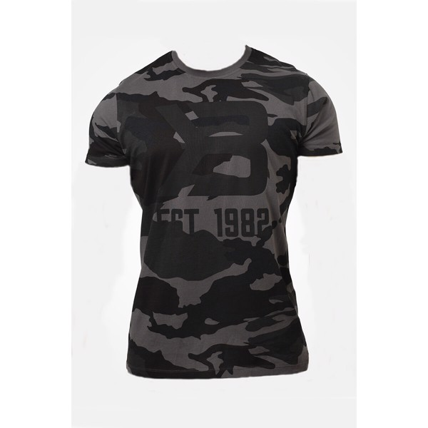 Billede af Better Bodies Washington Tee - Dark Camo
