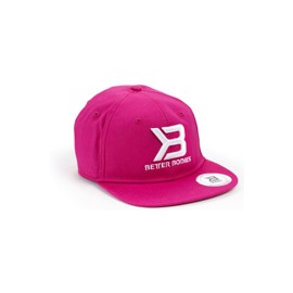 Better Bodies Womens Flat Bill Cap Hot Pink