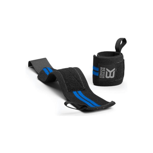 Billede af Better Bodies Elastic Wrist Wraps Black/Blue