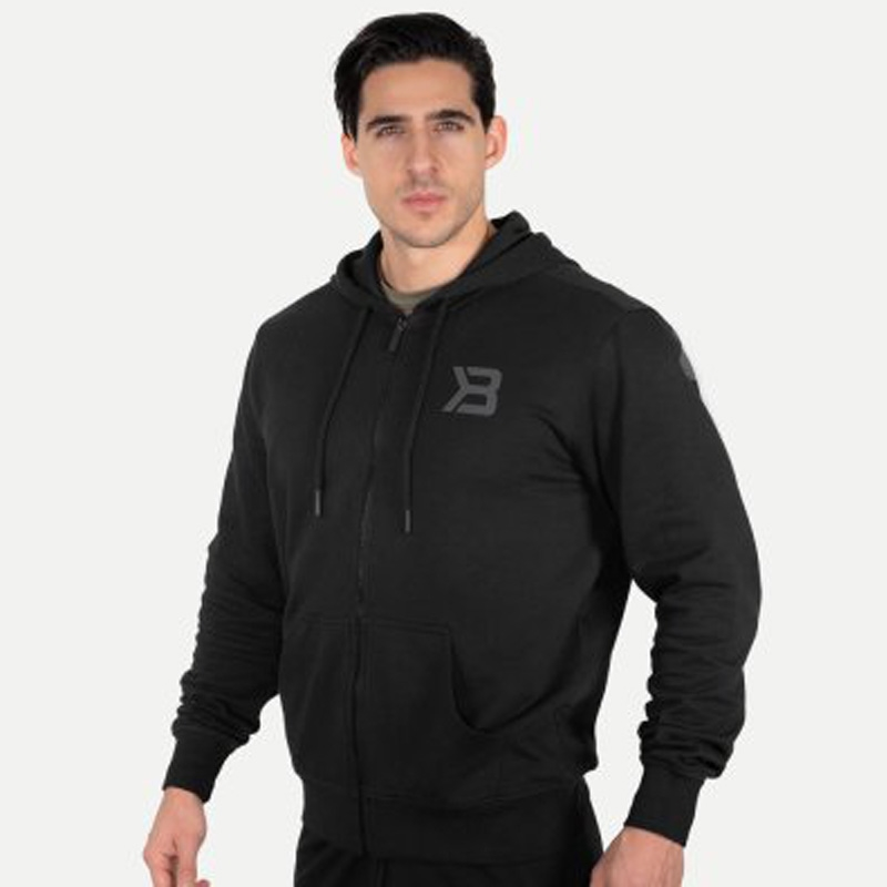 Better Bodies Mens Stanton Hoodie Black