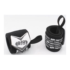 BfR Professional MORE-REP 12'' Wrist Wrap Black