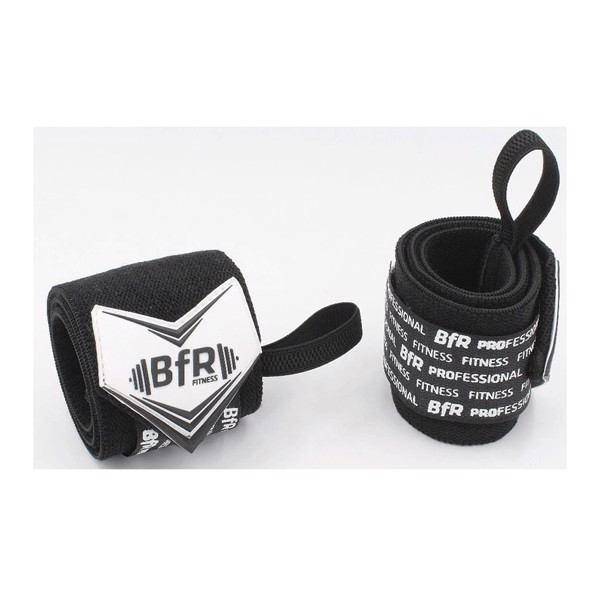 Image of BfR Professional MORE-REP 12 Wrist Wrap Black
