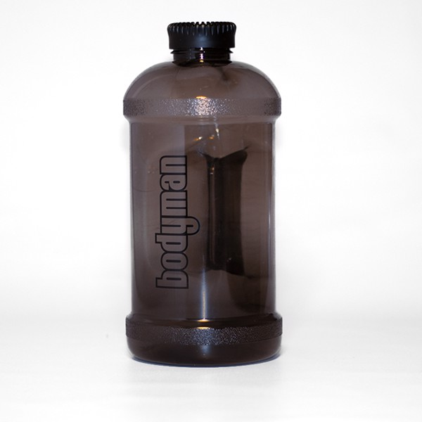 Image of Bodyman Water Bottle Black Smoke 2,2l