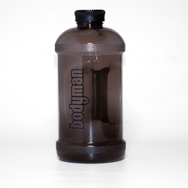 Bodyman Water Bottle Black Smoke 2,2l