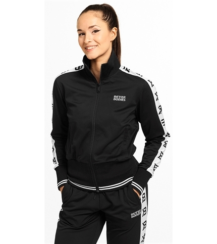 Better Bodies Chelsea Track Jacket Black