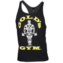 Golds Gym Stringer Tanktop - Black