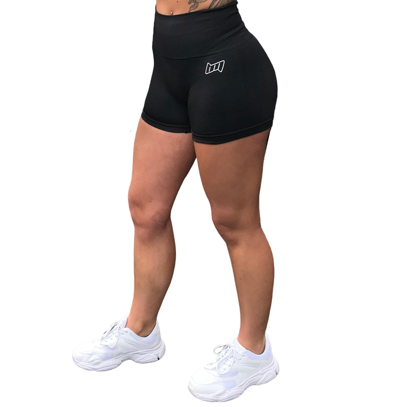 BM Seamless Shorts Black