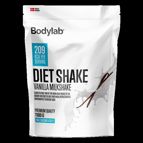Køb Bodylab Diet Shake Vanilla Milkshake 1100g