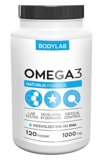 Billede af Bodylab Omega 3 (1x120 stk.)