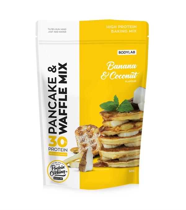 Image of Bodylab Pancake & Waffle Mix Banana Coconut 500 g