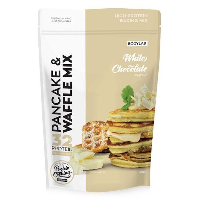 Image of Bodylab Pancake & Waffle Mix White Chocolate 500g