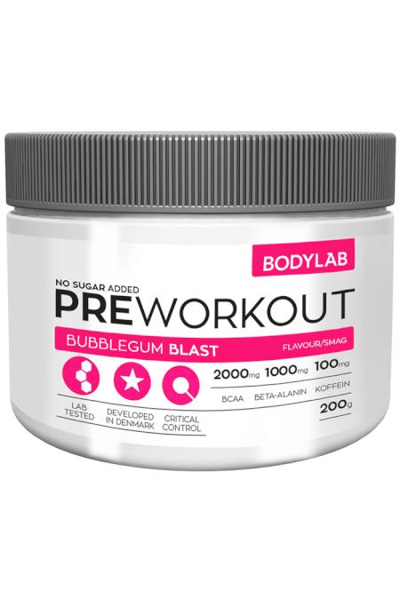 Billede af Bodylab Preworkout (200 g)
