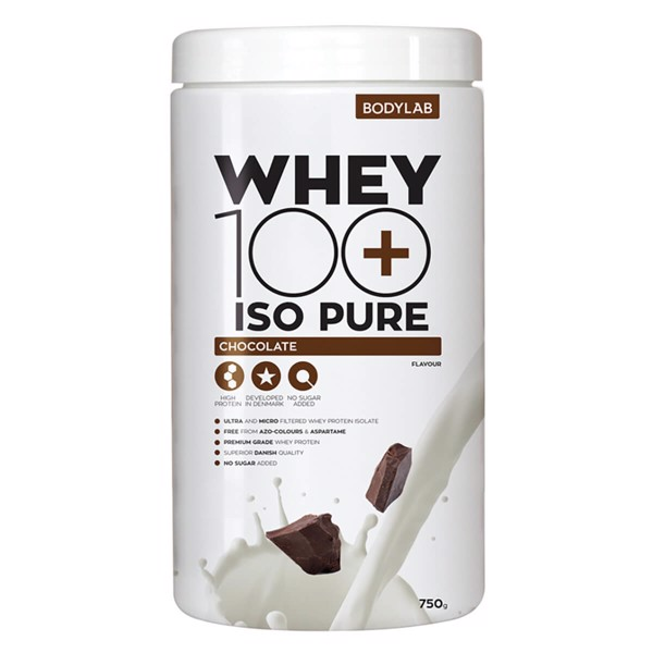 Image of   Bodylab Whey 100 ISO PURE Chocolate (750 g)