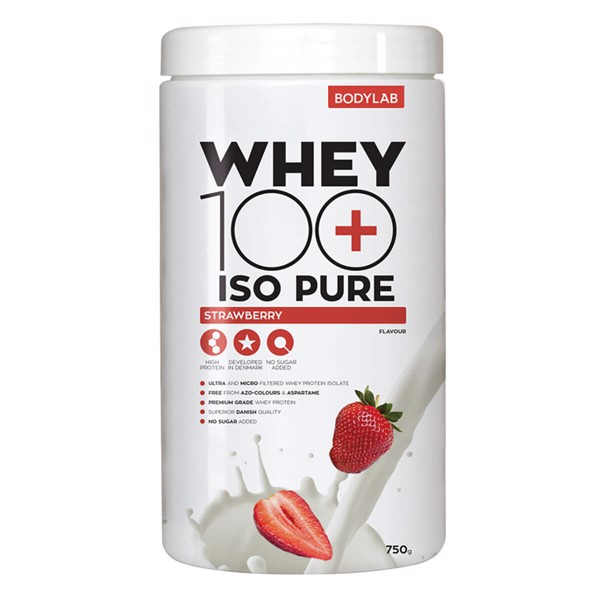 Bodylab Whey 100 ISO PURE Strawberry (750 g)