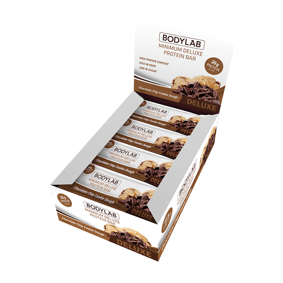 Image of   Bodylab Minimum Deluxe Protein Bar 12 stk