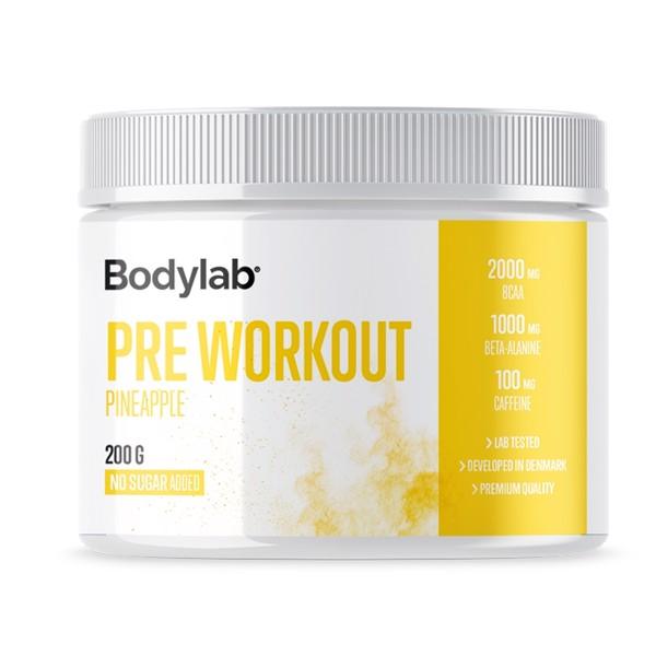 Billede af Bodylab Pre Workout Pineapple (200 g)