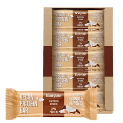 Bodylab Vegan Bar Coconut & Almonds 20x40g