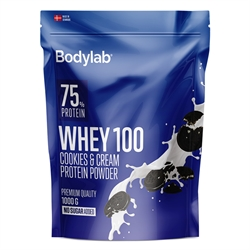 Bodylab Whey 100 Cookies & Cream 1000g