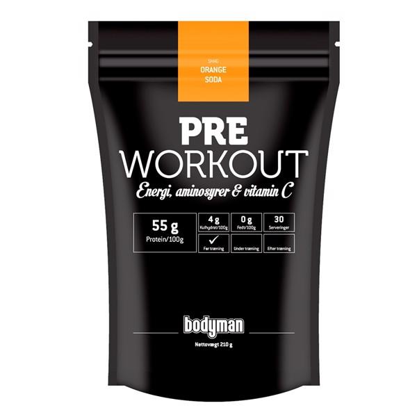 Bodyman pre-workout fra Bodyman