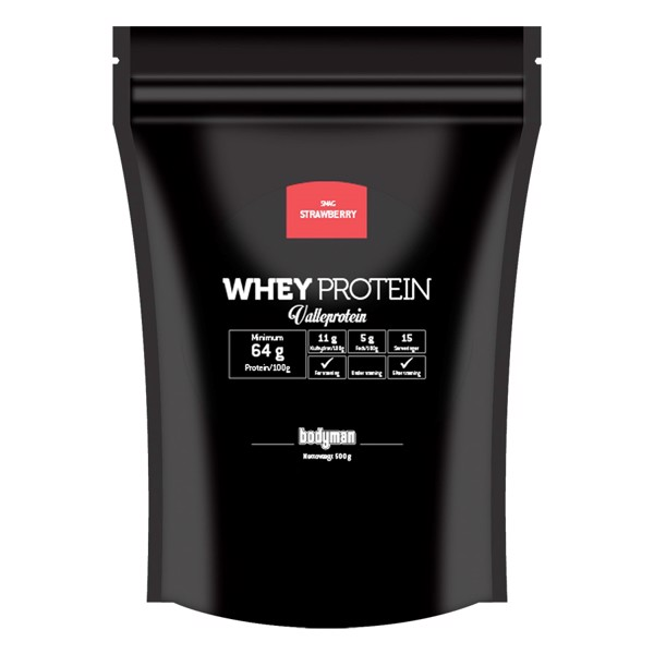 Bodyman whey proteinpulver fra Bodyman