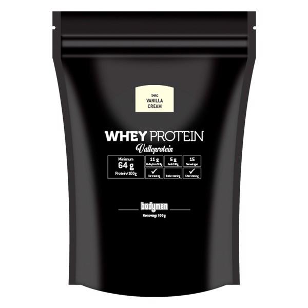 Billede af Bodyman Whey Proteinpulver Vanilla Cream 500g