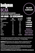 Bodyman BCAA Black Currant 240 Gram